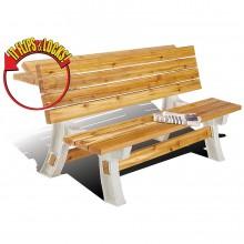 플립탑 벤치 테이블